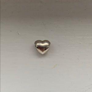 SOLD Pandora Silver Heart Charm